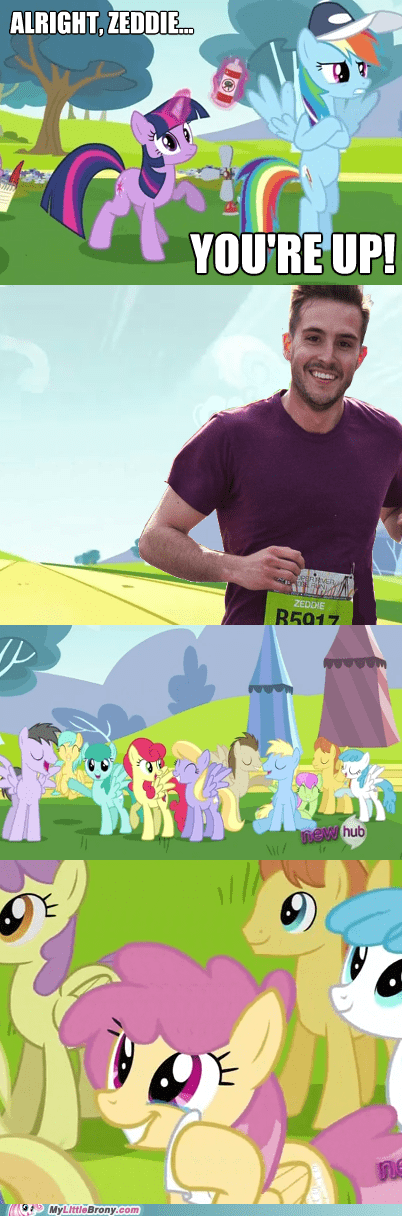 meme ponyville ridiculously photogenic guy RPG