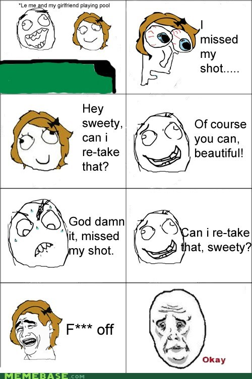 Okay,pool,Rage Comics,relationships