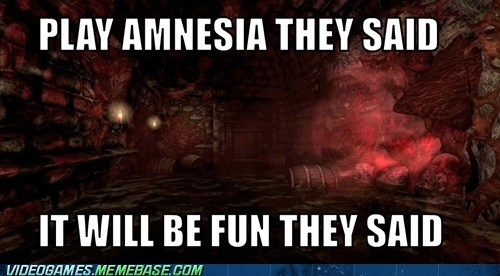 amnesia,meme,PC,They Said,video games