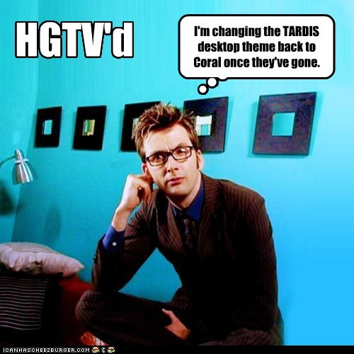 David Tenant desktop doctor who hgtv redecorated tardis the doctor - 6123914240