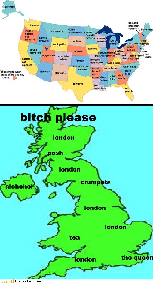 alcohol england Ireland Maps posh tea the queen - 6123966464