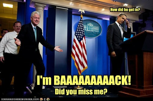 barack obama,bill clinton,political pictures