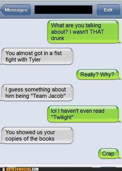 drunk fights iPhones team jacob twilight - 6123980544