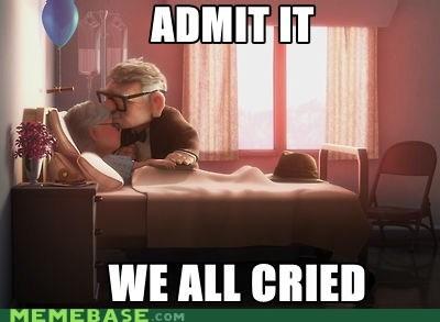 cried me gusta pixar Sad up - 6123998720