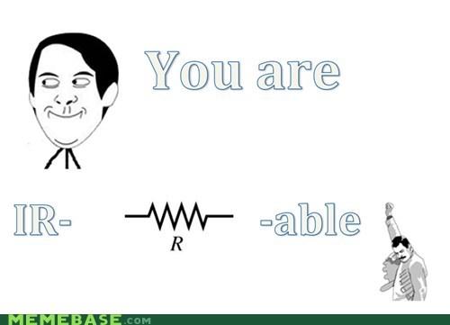 electronics Memes physics pun - 6124071424