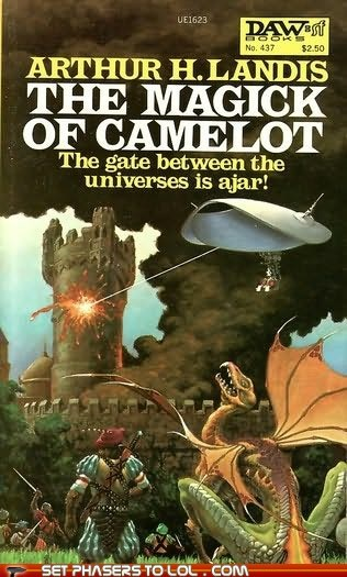 Aliens,book covers,books,camelot,cover art,dragon,fantasy,monty python,science fiction,wtf