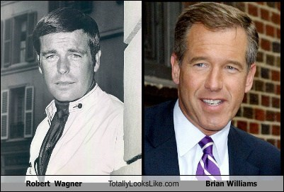 actor,brian williams,funny,robert wagner,TLL