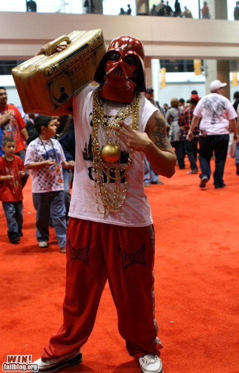 cosplay,darth vader,ghetto blaster,nerdgasm,star wars
