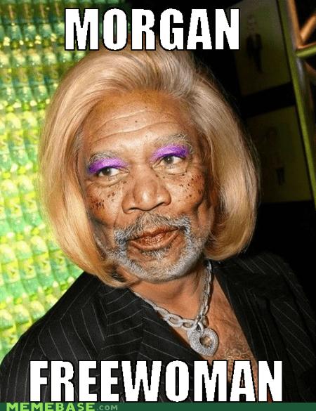 gordon freeman Memes Morgan Freeman sex change - 6124422144