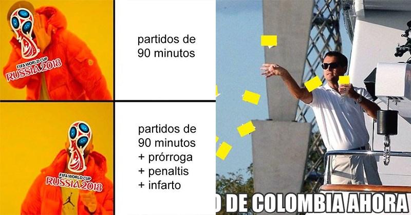 memes eliminacion colombia