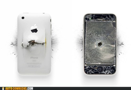 broken phones guns hipsters instagram iPhones - 6124650240