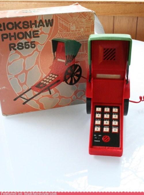 phone plastic rickshaw vintage - 6124710144