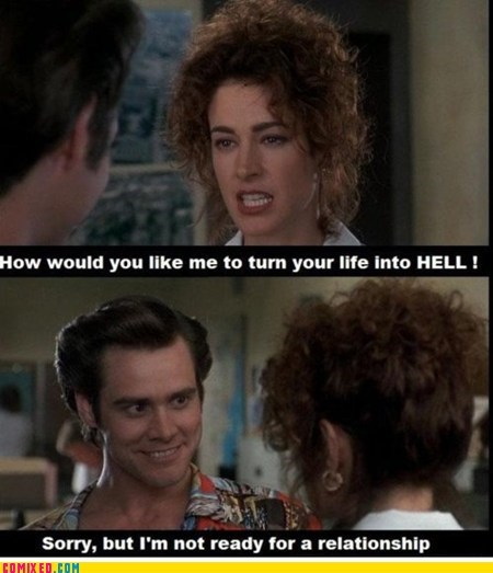 ace ventura,From the Movies,hell,Movie,relationships