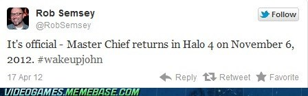 Halo 4 master chief news release date twitter - 6124739072