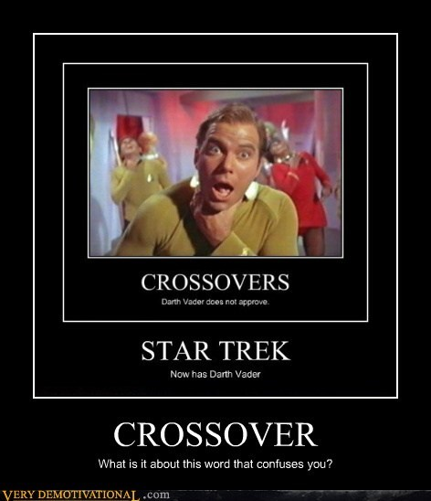 Captain Kirk crossover darth vader hilarious