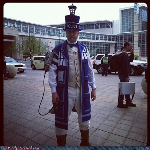 cosplay,doctor who,nerdgasm,tardis