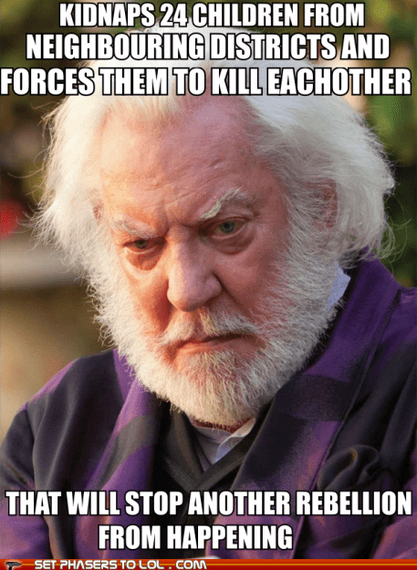 donald sutherland,happening,hunger games,kidnap,plan,president snow,rebellion