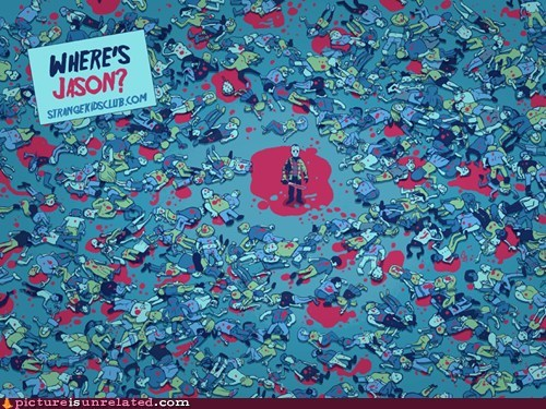 best of week friday the 13th jason wheres waldo wtf - 6125019904