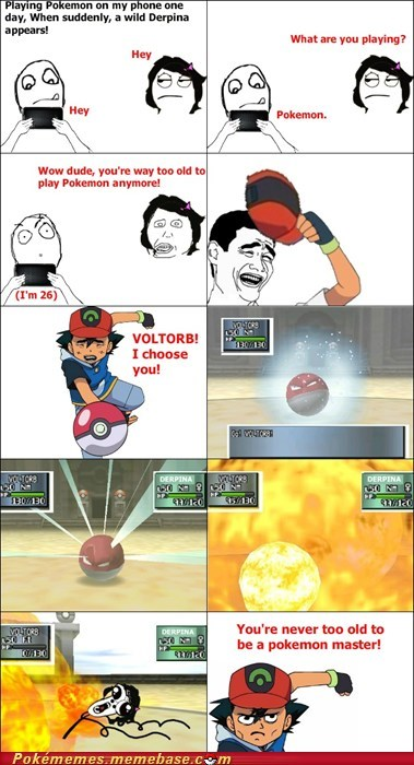 ash be the very best derpina gtfo rage comic Rage Comics too old - 6125021696