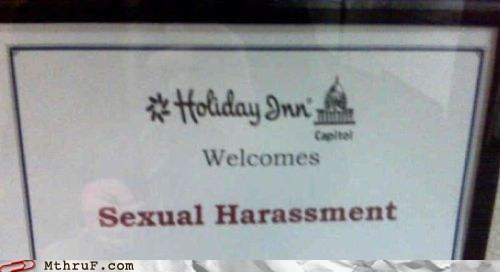 holiday inn,howard johnson,sexual harassment