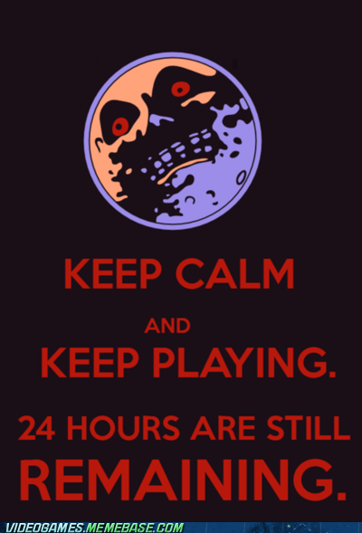 keep calm majoras mask meme song of time zelda - 6125091328