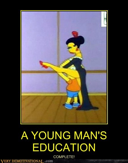 bart education hilarious sexy times simpsons wtf - 6125101312