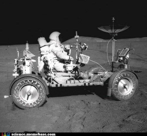 astronaut awesome moon Rocket Science rover