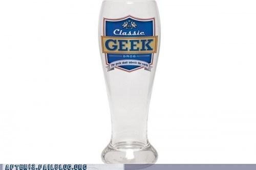 geek mead nerd pilsner power goblets - 6125243904