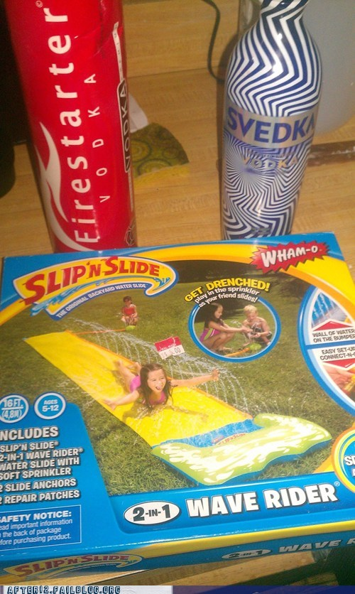 slip n slide svedka vodka - 6125358592