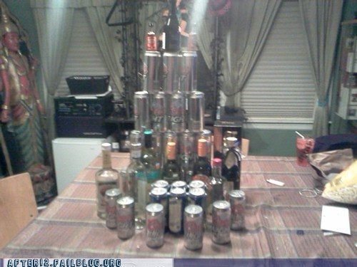beer can tower beer cans beer tower beerbel tower of babel - 6125409280