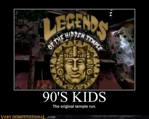 90s,game show,hilarious,kids,run,temple