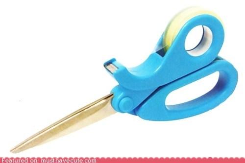 dispenser gift wrapping scissors tape - 6125549568