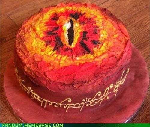 cake,Fan Art,Lord of the Rings,noms