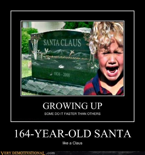 hilarious kid old Sad santa - 6125785088