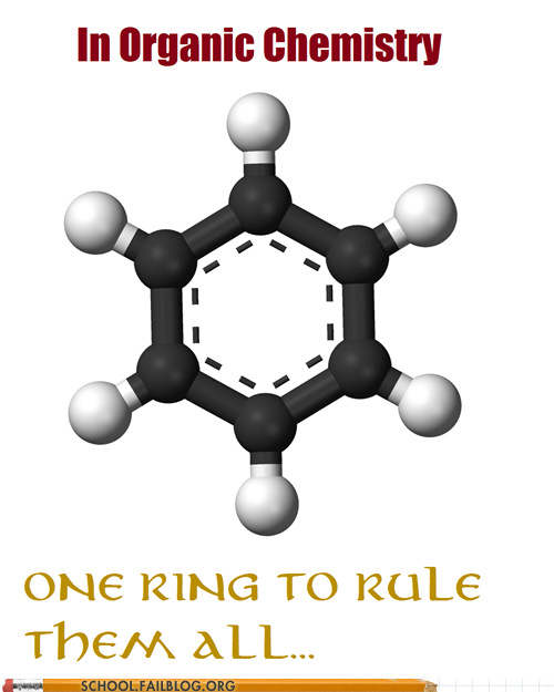 Hall of Fame my precious one ring to rule them all organic chemistry - 6125838080