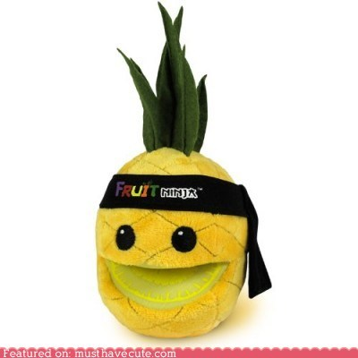 fruit fruit ninja pineapple Plush toy - 6126291200