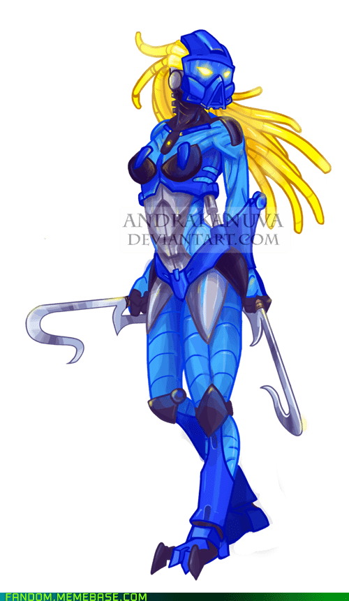 bionicle Fan Art gali lego - 6126519808