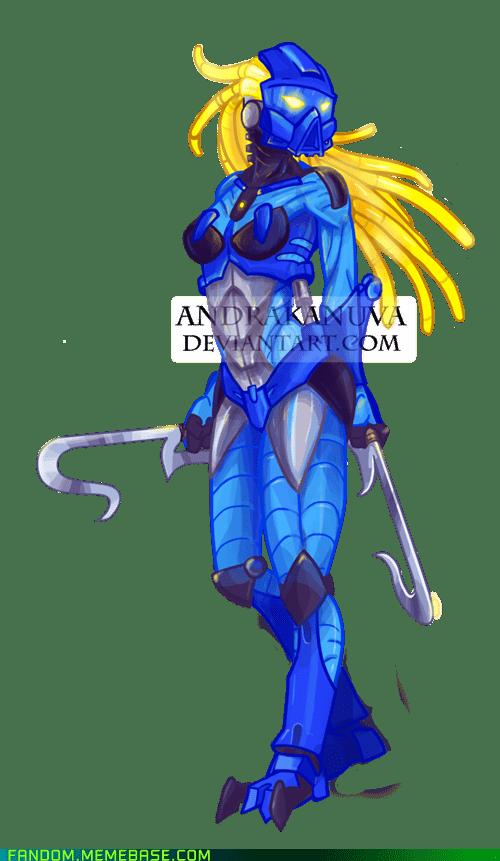 bionicle Fan Art gali lego - 6126519808