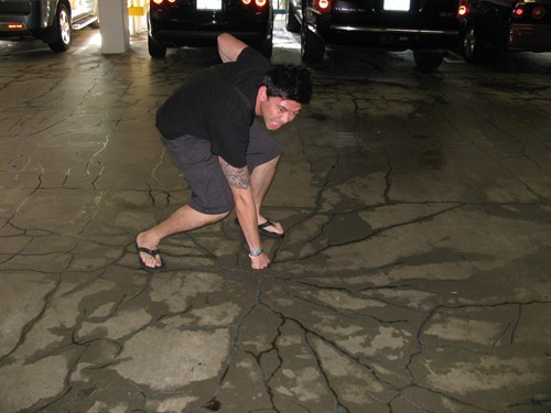 clever hulk photography sidewalk - 6126810112