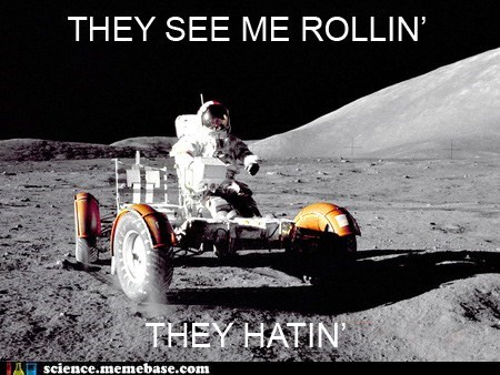hating moon Rocket Science rolling rover - 6127590912