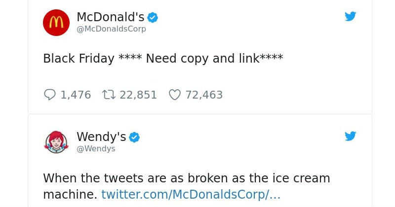 Wendy's twitter account that savagely roasts potential customers and competitors alike