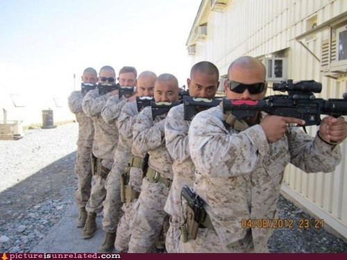 best of week,disguise,marines,mustache,US Military,wtf