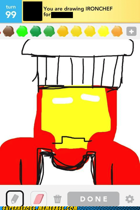 Awesome Art iron chef iron man - 6127747584