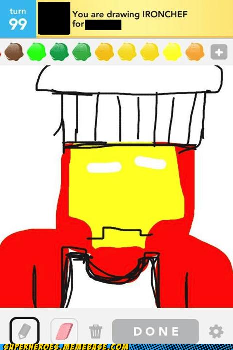 Awesome Art iron chef iron man - 6127747584