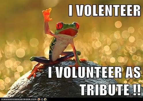 french,frog,frog legs,katniss,hunger games,tribute,volunteer