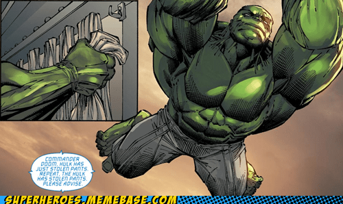 Straight off the Page hulk theft wtf pants - 6128014592