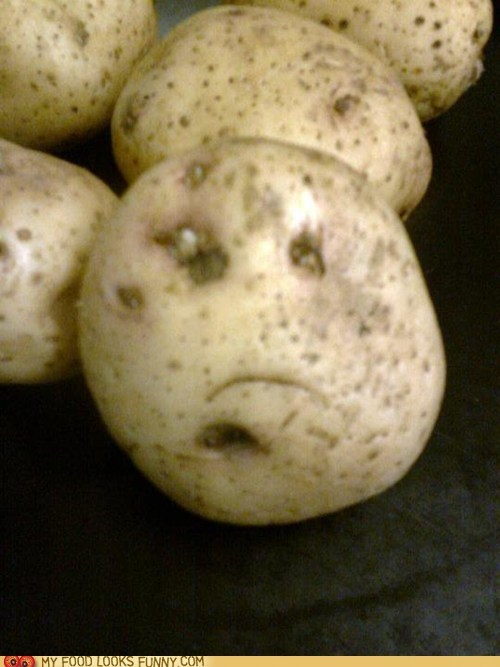 bummed face potato Sad - 6128079360
