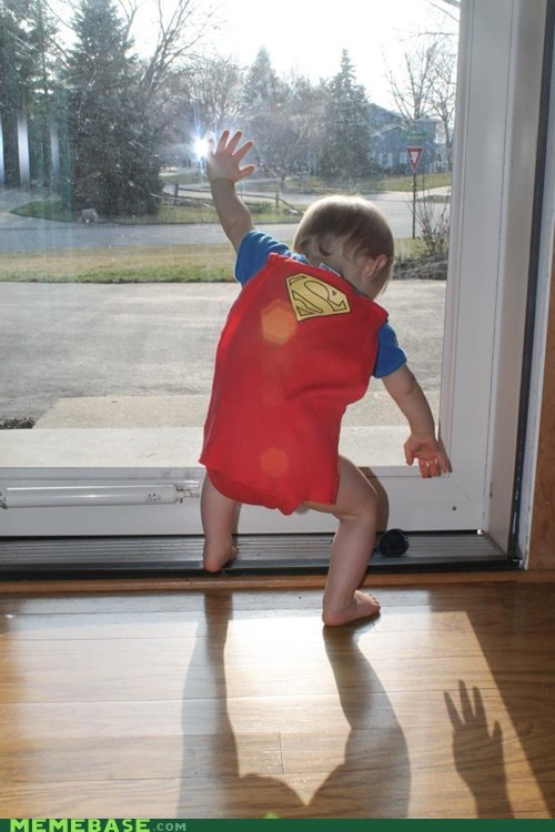 baby,costume,cute,Super Costume,superman