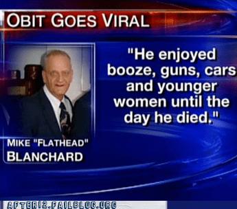 flathead,mike blanchard,mike flathead blanchard,Obit,obituary