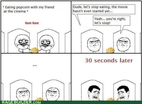 me gusta movies Popcorn Rage Comics - 6128360960